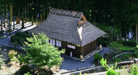 宇治田原町にある永谷宗円生家。宇治田原町のシンボルとして親しまれています。