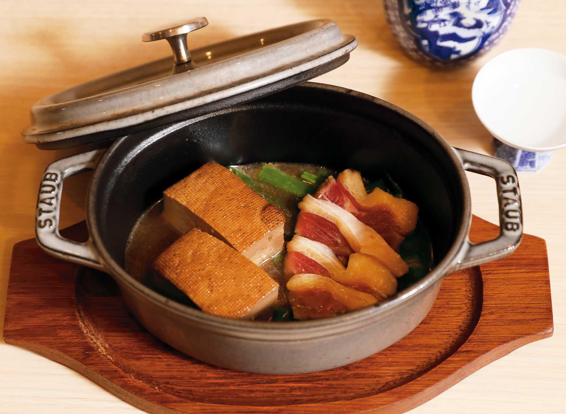 鴨ねぎ豆腐