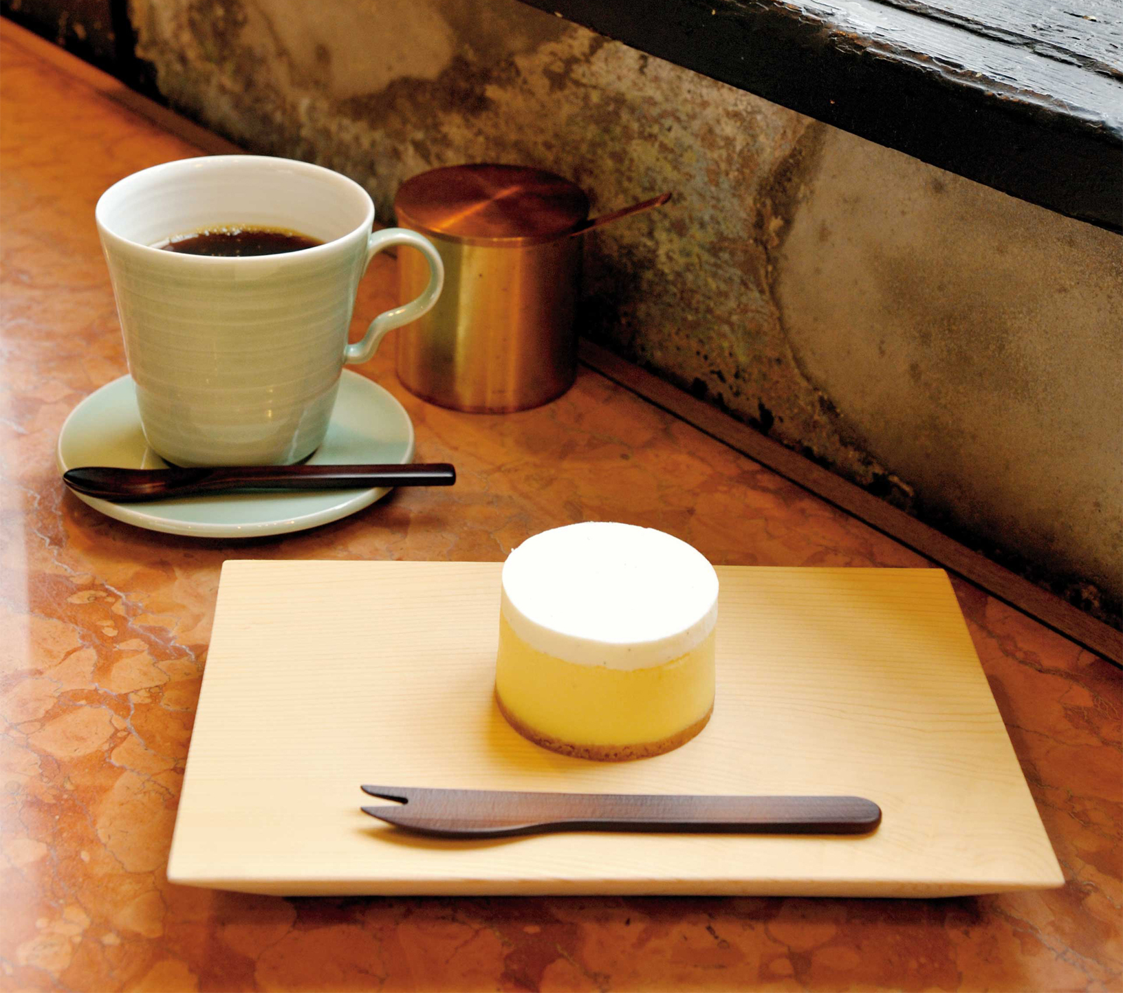 Kaikado Cafeのチーズケーキ