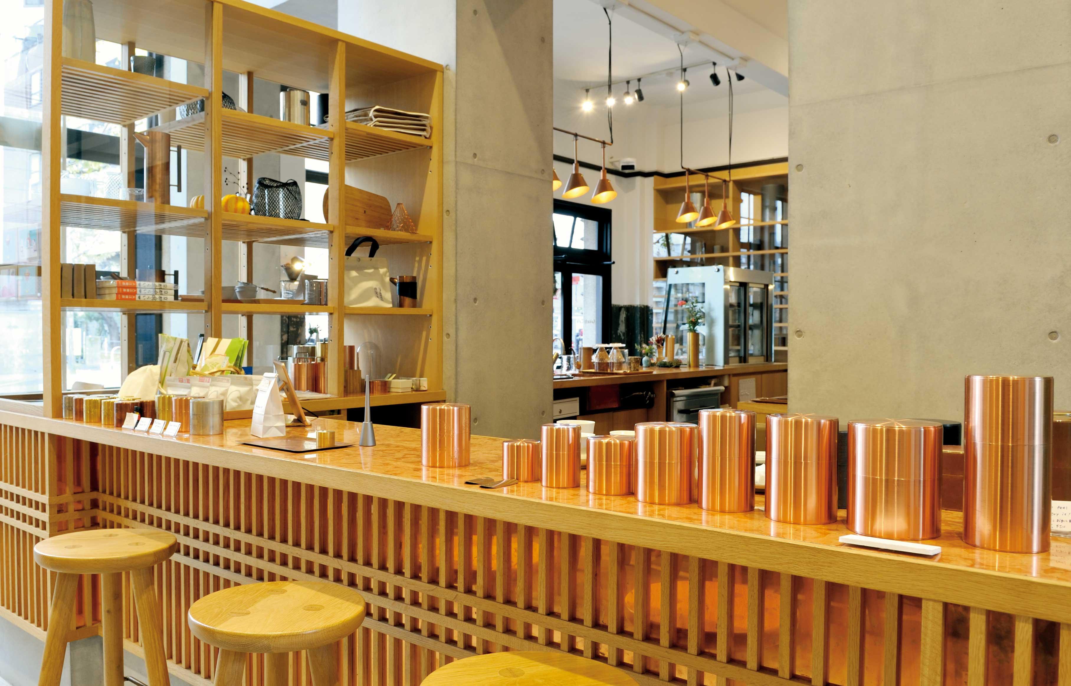 Kaikado Cafeの店内