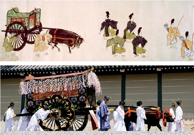 葵祭の御所車