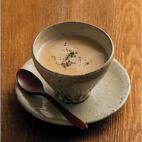 ほうじ茶のチャイ