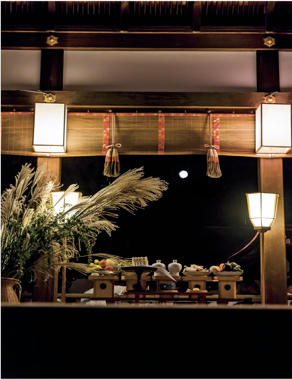 下鴨神社の名月管弦祭の画像