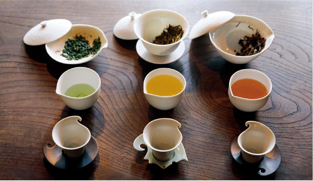 3種の「茶味比べ」