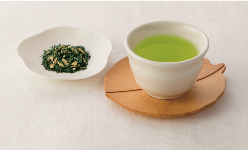 生姜入りのお茶
