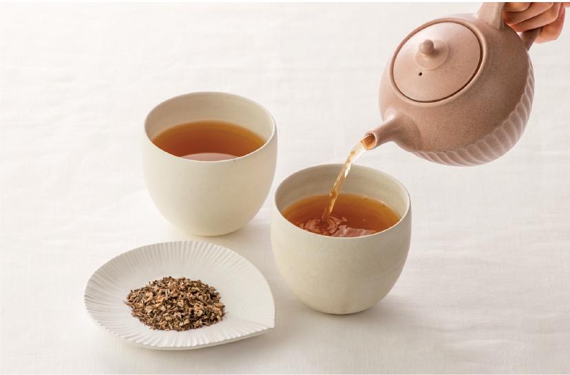 ごぼう入りのお茶