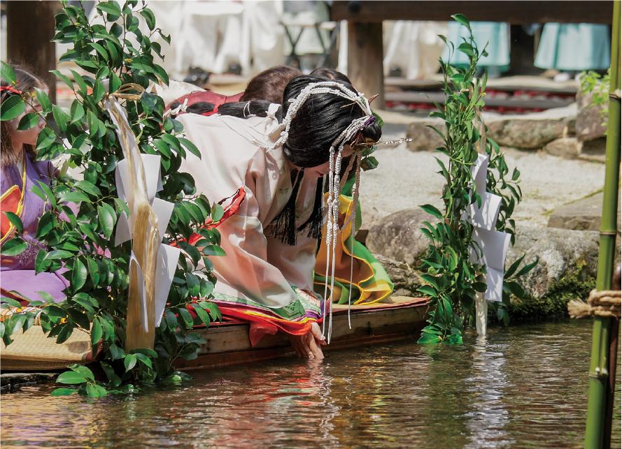 葵祭・禊祓の儀式