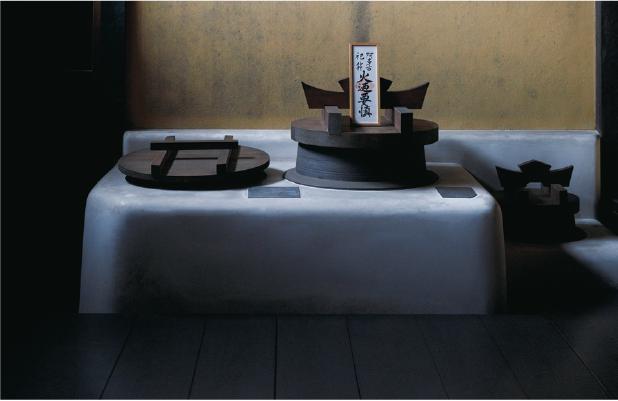 黄梅院の庫裡は小早川隆景が寄進して建てられたもの。