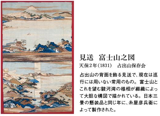 見送 富士山之図