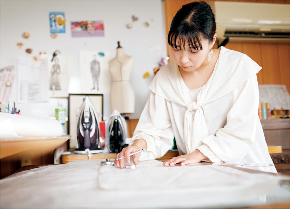 衣裳家・服飾デザイナー 鷲尾華子さん
