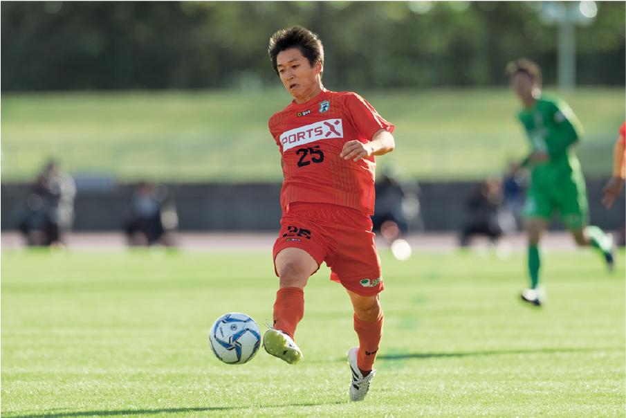 2017年に移籍したアミティエSC京都(現・おこしやす京都AC)でも選手として活躍した。